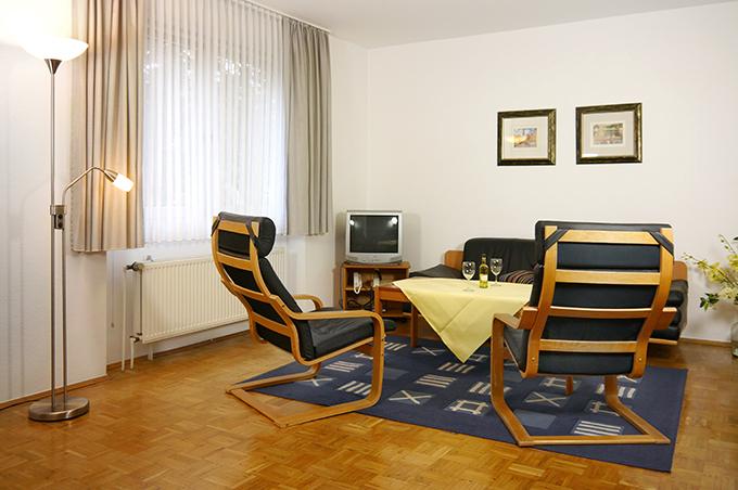 Ferienwohnung Apparthaus Arosa Wohnzimmer